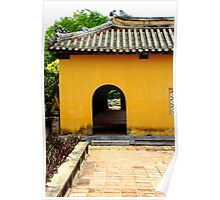 Glimpse of the Imperial City VI - Hue, Vietnam. Poster