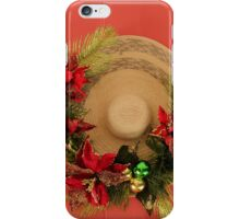 Christmas decoration in Puerto Rico iPhone Case/Skin