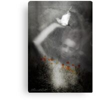 Peace is in our hands Canvas Print
