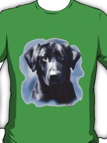 Black Lab Portrait T-Shirt