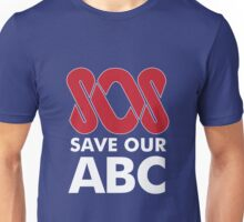 SOS Save Our ABC T Shirt & Other Products Unisex T-Shirt