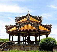 The Lovers' Pergola - Hue, Vietnam. by Tiffany Lenoir