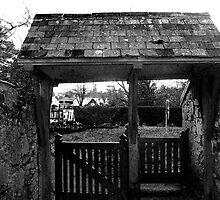 The Lychgate by Catherine Hamilton-Veal  ©