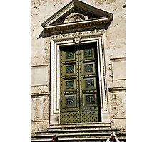 Roman Door Photographic Print