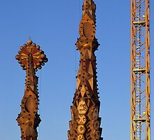 Sagrada Familia by Kasia Nowak