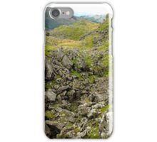 Rocky Outcrop on Helm Crag iPhone Case/Skin
