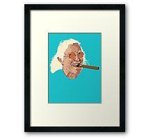 Jimmy Savile Framed Print
