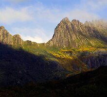 Cradles of Time- Cradle Mountain National Park, Tasmania, Australia by Philip Johnson