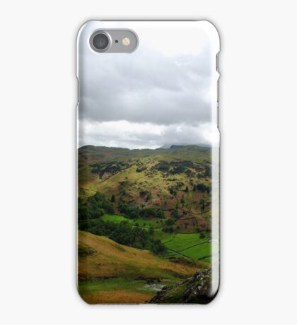 The View From Helm Crag iPhone Case/Skin