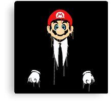 Mario cool Canvas Print