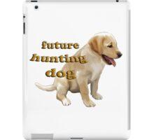 Yellow Lab Puppy Hunting iPad Case/Skin