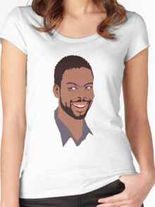Chris Rock Women's Fitted Scoop T-Shirt
