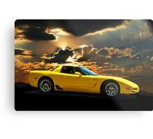 2001 Corvette Z06 Coupe I Metal Print