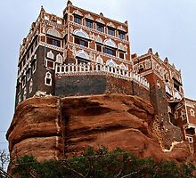 Rock Palace (Dar Al Hajar)  by heinrich