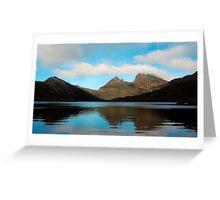 Reflections Through Time - Cradle Mountain, Tasmania Greeting Card