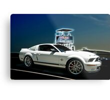 2014 Shelby Cobra Mustang GT500 'Super Snake'  Metal Print