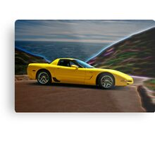 2001 Corvette Z06 Coupe II Metal Print