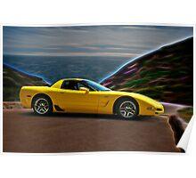 2001 Corvette Z06 Coupe II Poster