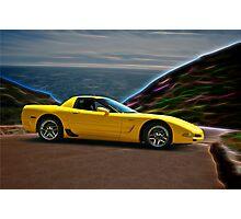 2001 Corvette Z06 Coupe II Photographic Print