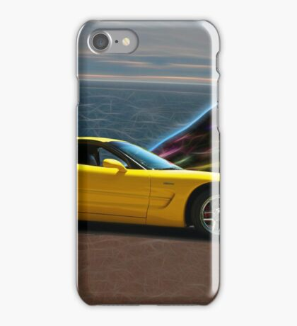 2001 Corvette Z06 Coupe II iPhone Case/Skin