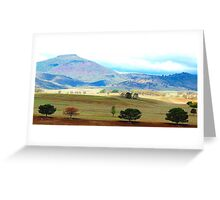 Valley of Colour- Southern NSW, Australia Greeting Card