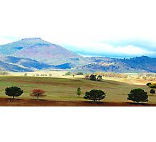 Valley of Colour- Southern NSW, Australia Photographic Print