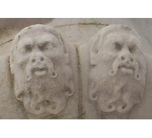 Stone Faces Photographic Print