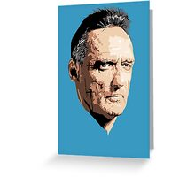 Dennis Hopper Greeting Card