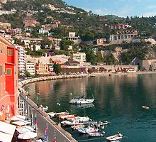 Villefranche Harbour by Tom Gomez
