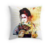 turning japanese Throw Pillow