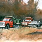Westchester Work Trucks by Anthony Billings