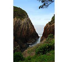 Rock Cliffs Photographic Print