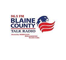 Blaine County Talk Radio Photographic Print