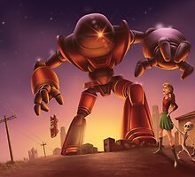 Giant Robot Invasion 2 by Colin Howard