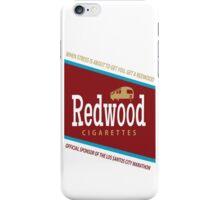 Redwood Cigarettes iPhone Case/Skin