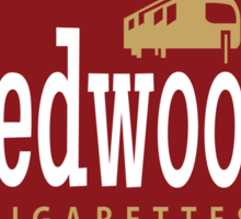 Redwood Cigarettes Sticker