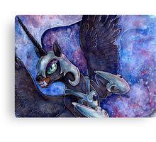 Nightmare Moon in watercolor Canvas Print
