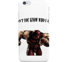 I'M THE JUGGERNAUT iPhone Case/Skin