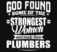 Strongest Plumbers T-shirt by musthavetshirts