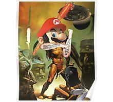 Enter the Sandman Mario Poster