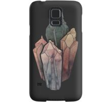 Dark Watercolor Crystals Samsung Galaxy Case/Skin