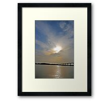 Johnson Bridge Framed Print