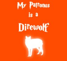 My Patronus is a Direwolf Kids Clothes