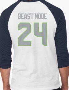 BEAST MODE - 24 Men's Baseball ¾ T-Shirt
