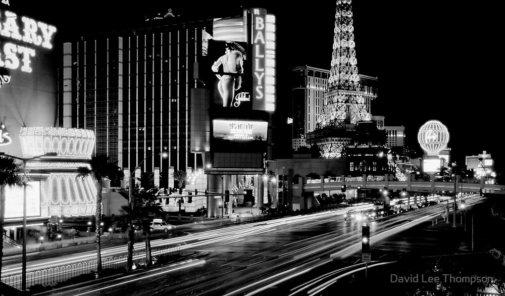 """Vegas Strip"" by David Lee Thompson"