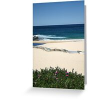 Boats at Coogee   Greeting Card