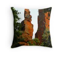 """Canyon Cliffs"" Throw Pillow"