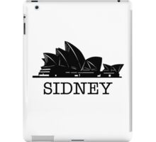 Sidney iPad Case/Skin