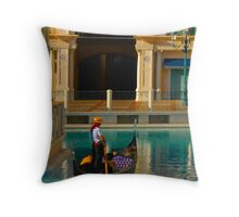 """Gondola Ride"" Throw Pillow"