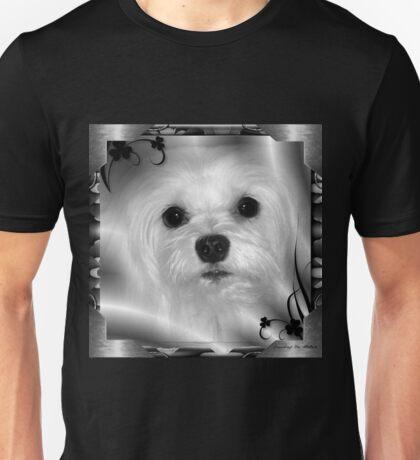 Snowdrop the Maltese Unisex T-Shirt